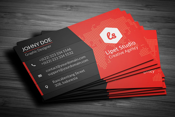 Key Modern Business Card Template V Suave Digital - Graphic design business card templates