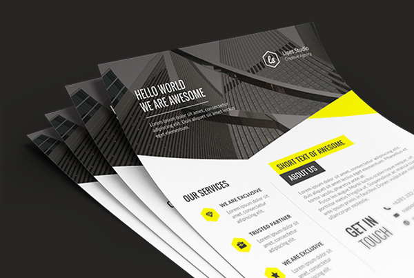 Vfx – Creative Corporate Flyer v1